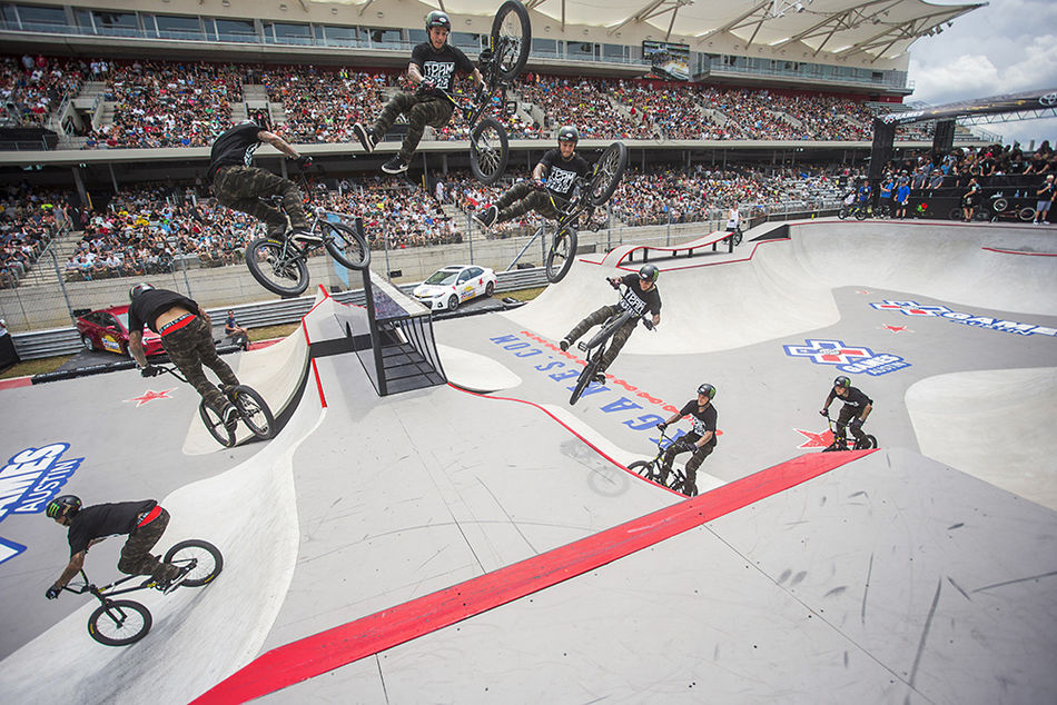 kyle baldock 360 double tailwhip x games park gold