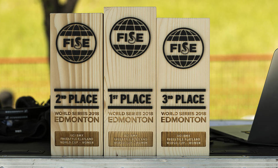 UCI BMX Flatland World Cup Final results. Edmonton, Canada.