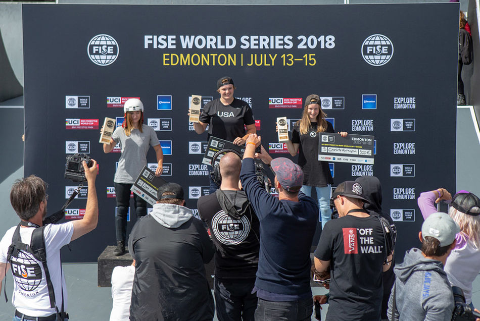 UCI BMX Freestyle Park World Cup FINAL results Women
