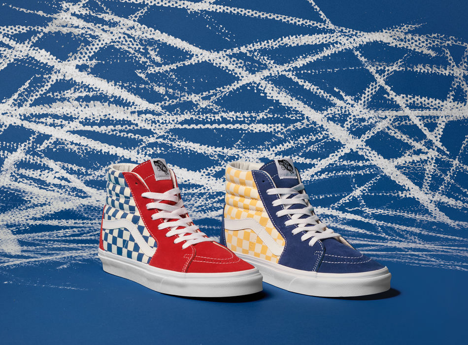 Vans, First in BMX, Dresses Classic Styles in Original BMX Design