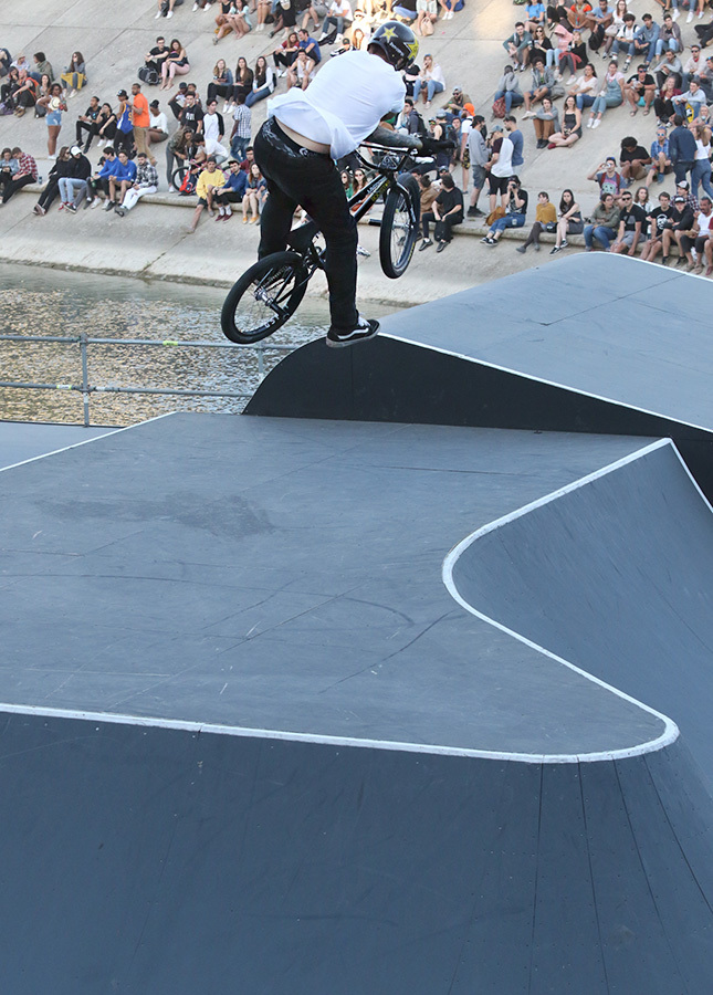 PARK results UCI BMX Freestyle World Cup Montpellier, France.