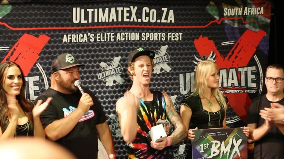Park results Ultimate X, Cape town, South Africa.