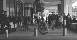 RADIO BIKES BMX - #SPOTTERDAM - Leon Hoppe & Robin Kachfi