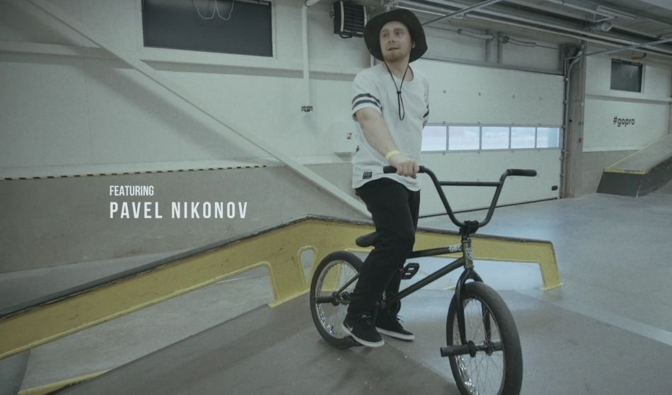 Pavel Nikonov shreds in Tallinn by Dmitri Shushuyev