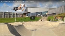 SKATEPARK GUIDES BMX at the best park! Huyton, Liverpool by Skatepark Guides