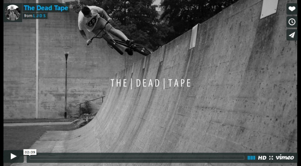 The Dead Tape  from L J D S
