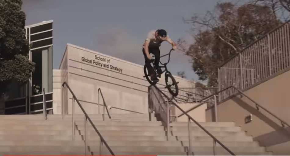 Dan Coller Rides CST Forks and Rex Bars! - Kink BMX