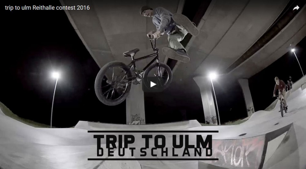 Trip to Ulm Reithalle Contest 2016 by Nuts and Bolts BMX