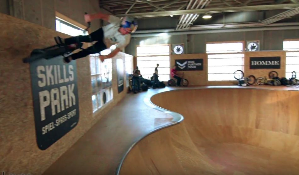 Ride Further Tour, SKILLS PARK (CH) - Sergio Layos wins Bowl Battle
