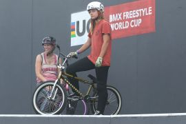 UCI BMX Freestyle Park World Cup Finals Women. Live on FATBMX from Budapest, Hungary.