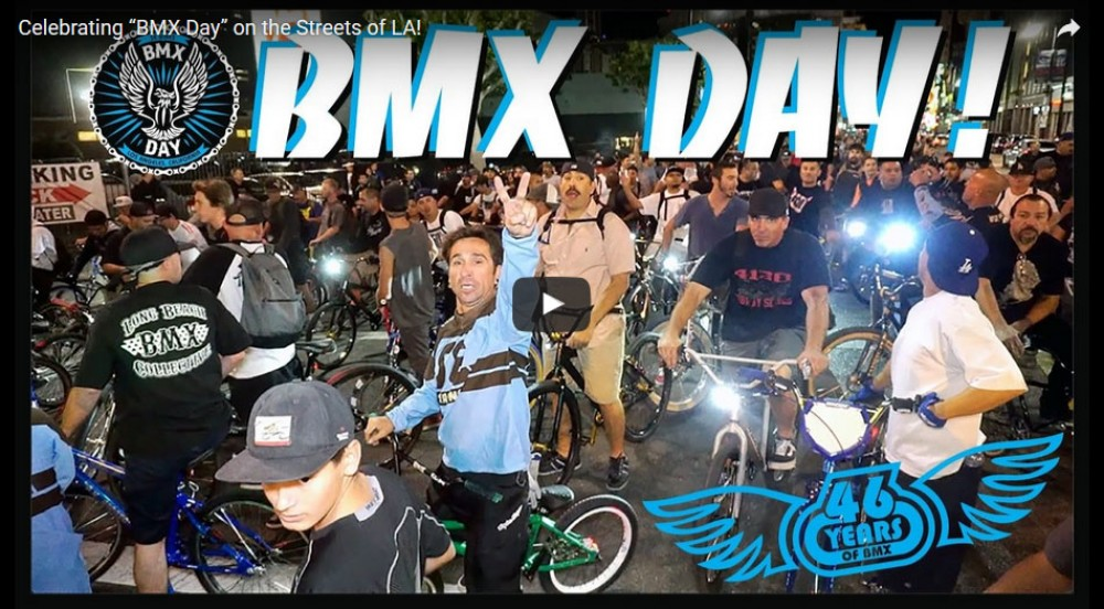 "Celebrating ""BMX Day"" on the Streets of LA! by SE Bikes"