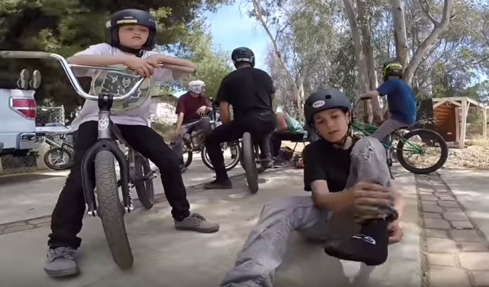 KIDS SESSION WITH LARRY EDGAR & DANIEL SANDOVAL! Stay Strong Compound - Lil Pros Tour CALIFORNIA by Dustin Grice
