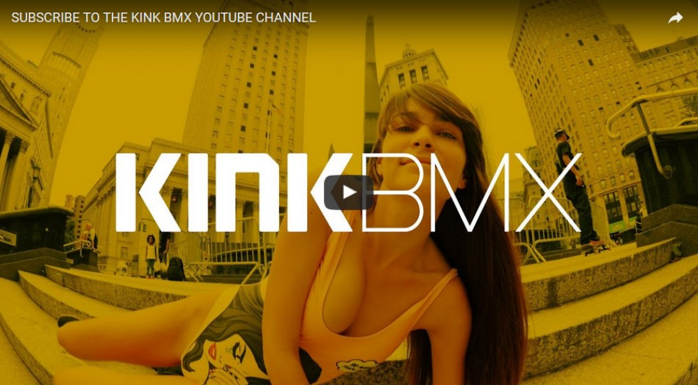 Subscribe To The KINK BMX Youtube Channel