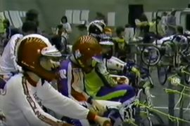 Old School 1980 BMX Racing Videos of EBA, NBL and NBA racing in Niagara Falls NY