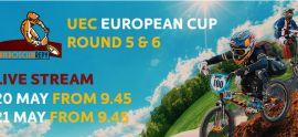 LIVE - 2017 UEC BMX EUROPEAN CUP Rounds 5 and 6 from Prague, Cze.