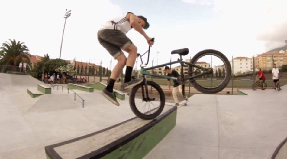 "Josue De Leon ""Pinky"" islands bmx from we ride kid bikes"