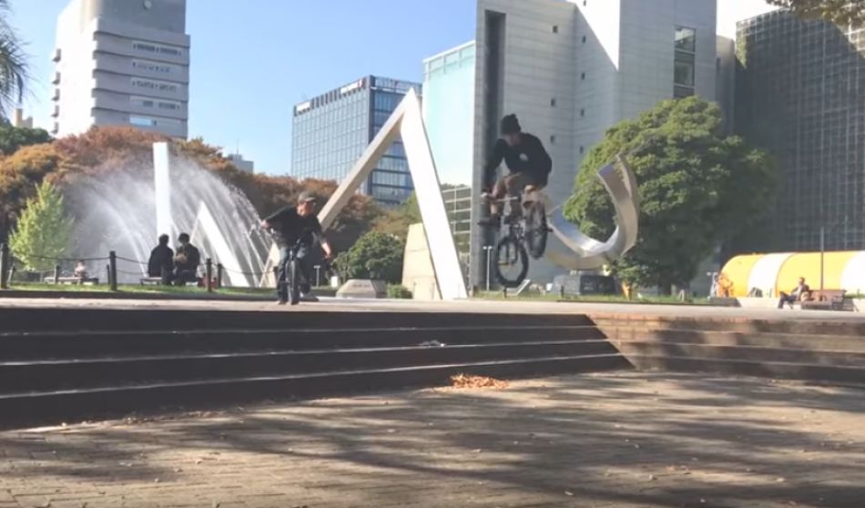 Ken Apache In The Streets Of Japan - Kink BMX World Team