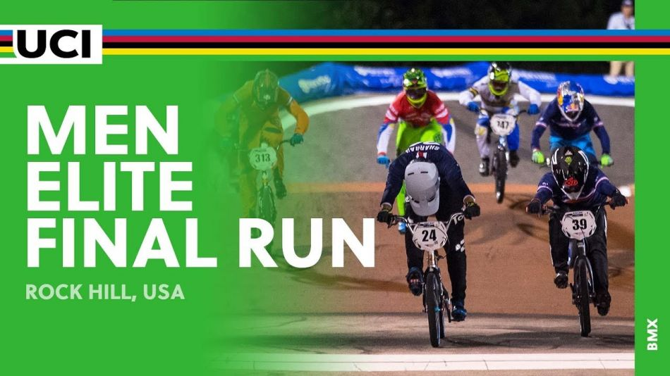 2017 UCI BMX World Championships – Men Elite Final Run / Rock Hill, USA