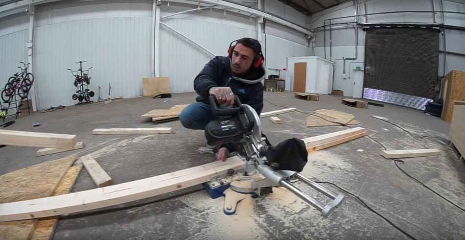 BUILDING BMX RAMPS.... by Harry Main
