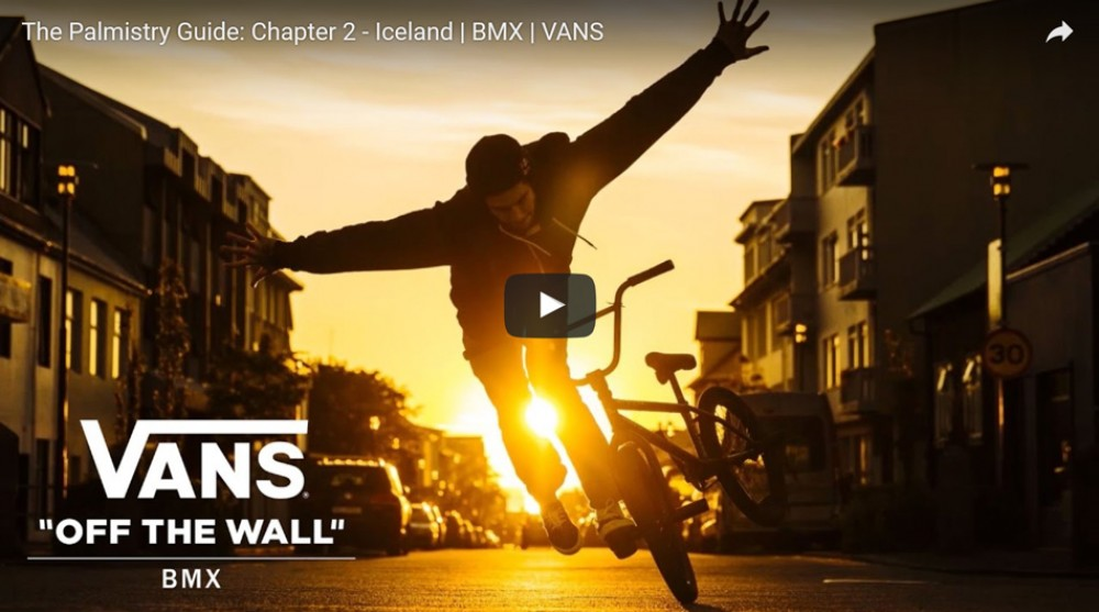 The Palmistry Guide: Chapter 2 - Iceland | BMX | VANS