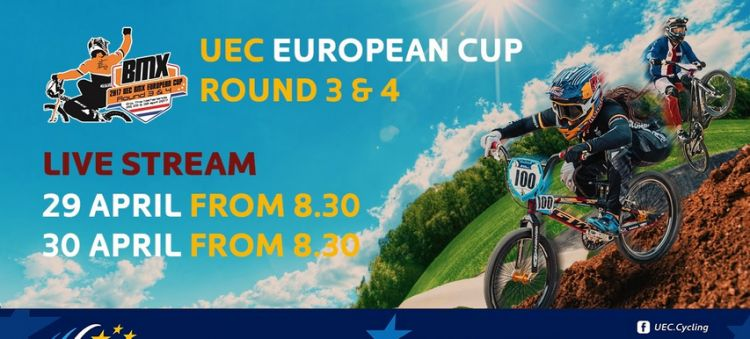 LIVE: 2017 UEC BMX EUROPEAN CUP Round 4 – Erp (Netherlands), Sunday - morning part by UEC Cyclisme