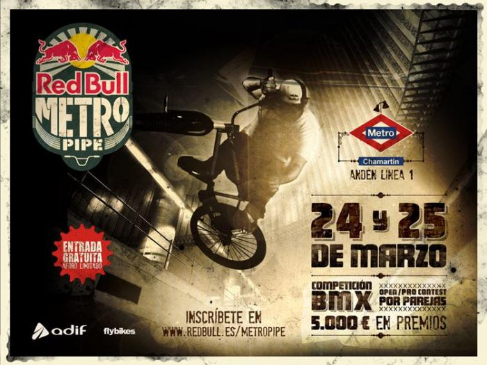 Red Bull Metro Pipe 2012