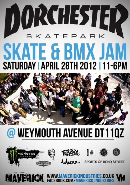 Dorchester Skatepark Jam