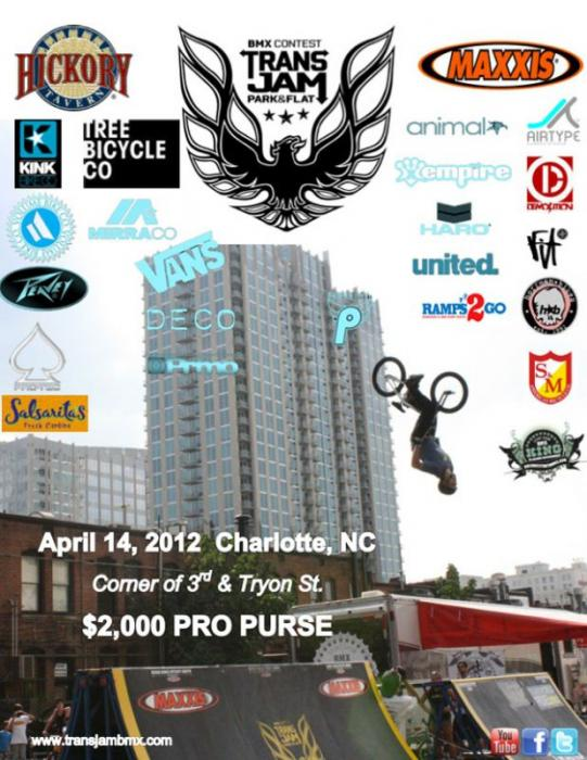 2012 Trans Jam BMX Contest Series #1