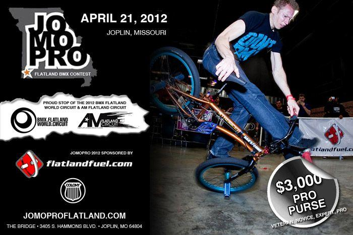 JoMoPro Flatland BMX Contest