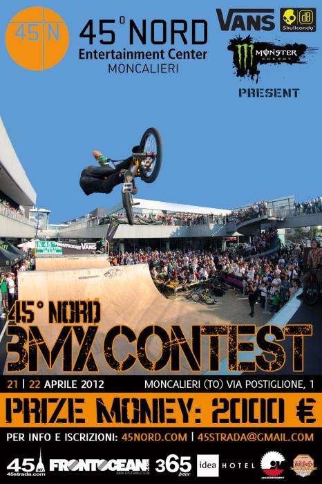 45 NORD BMX CONTEST 2012
