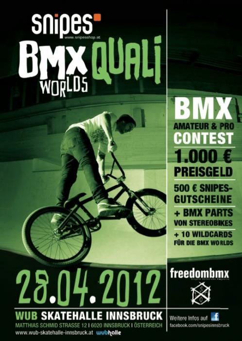 Snipes BMX Worlds Quali Contest