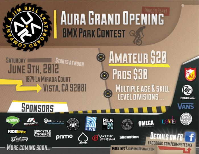 Aura Grand Opening BMX Contest