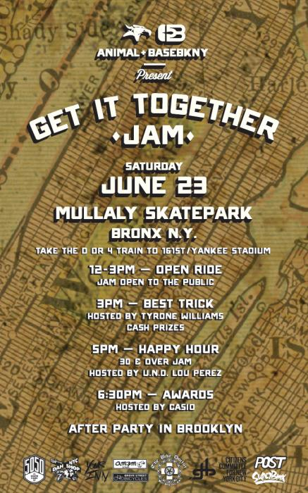 "ANIMAL X BASE BKNY ""GET IT TOGETHER JAM"""