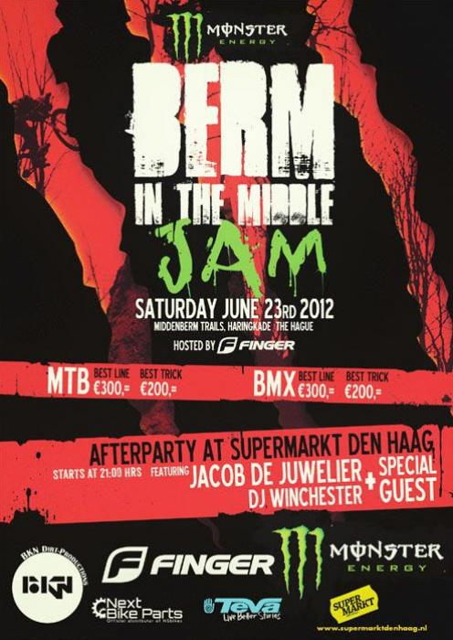 Monster Energy Berm in the Middle Jam