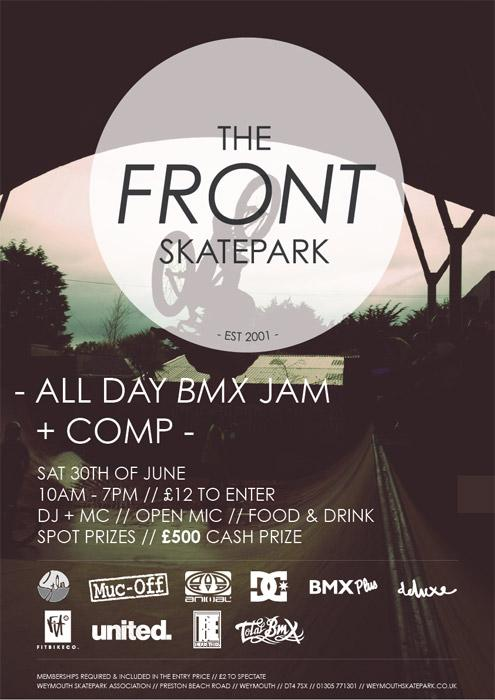 WEYMOUTH SKATEPARK JAM