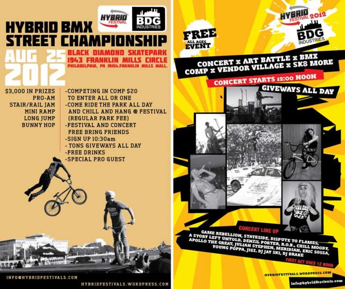 Hybrid Bmx Street Championship