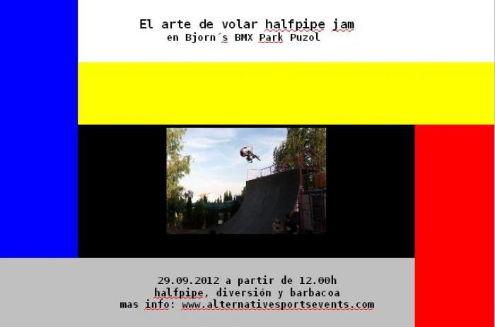 El arte de volar Halfpipe Jam