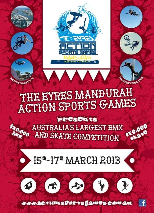 EYRES Action Sports Games Mandurah