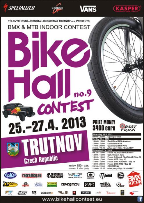 Bike Hall Contest 9.