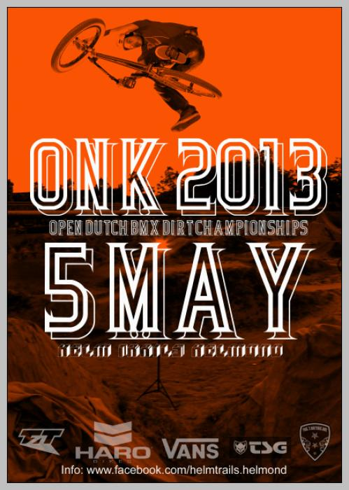 ONK BMX DIRT 2013 Helm Trails Helmond
