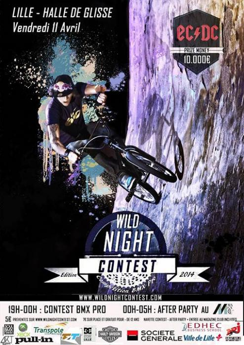 Wild Night Contest - BMX Contest
