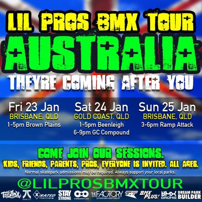 Lil Pros BMX Tour: AUSTRALIA