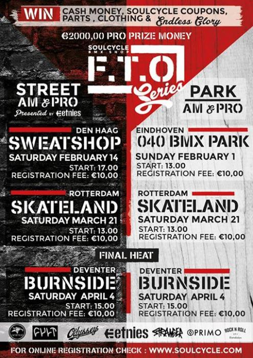FTO Park & Street series by Soulcycle BMX shop