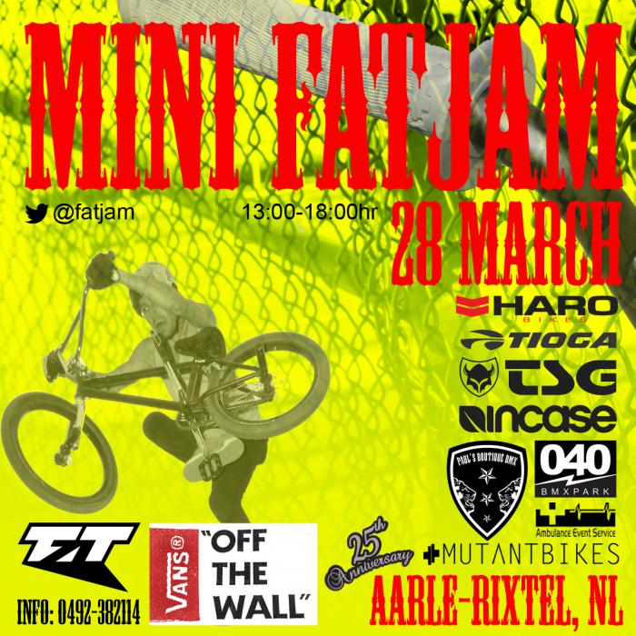 Mini FATJAM 2015. 25th anniversary.