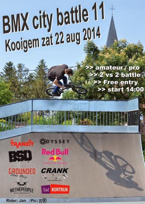 BMX City Battle 11 Kooigem, Belgium