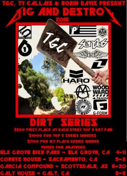 Dig & Destroy Dirt Series Finals