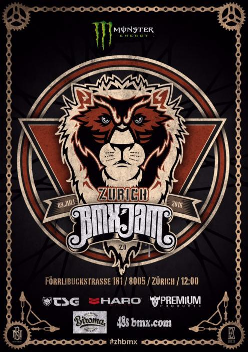 Monster BMX Zurich Street-Jam 2016