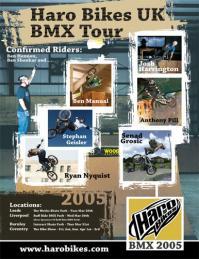 Haro UK tour poster2