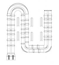 s two lane track