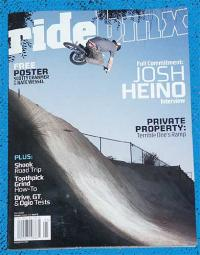 RIDEBMX MAY 2005 issue